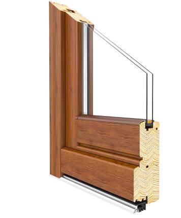 Profil Softline Holztür