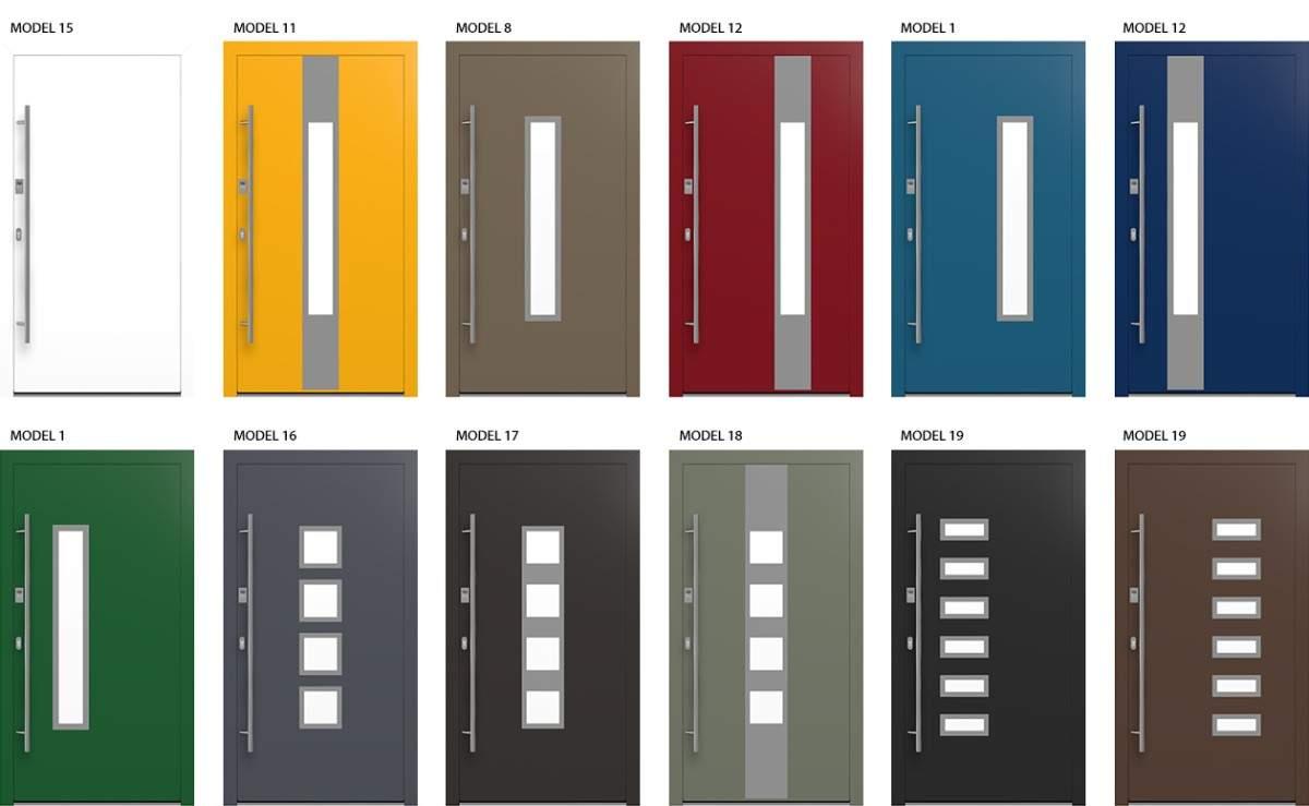 Design Haustüren für höchste Sicherheit