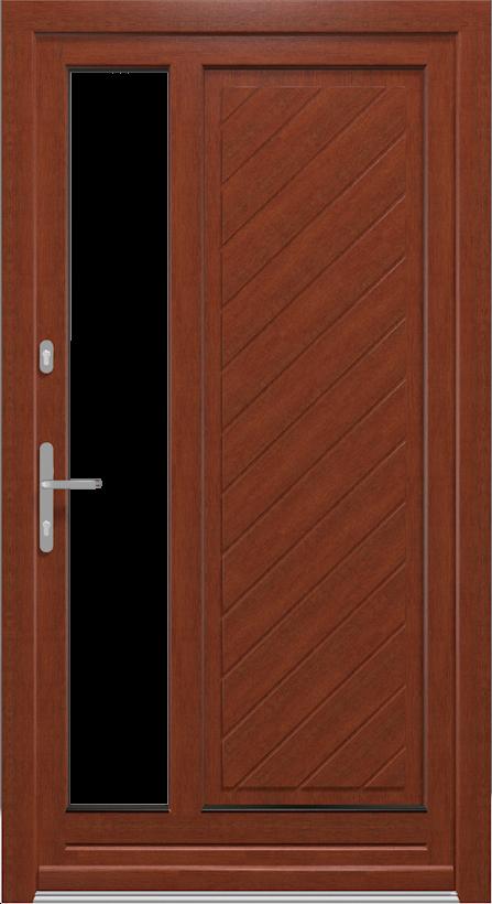 Nebeneingangstüren Modelle aus Holz -