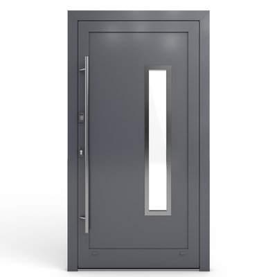 Nebeneingangstüren Modelle aus Aluminium -