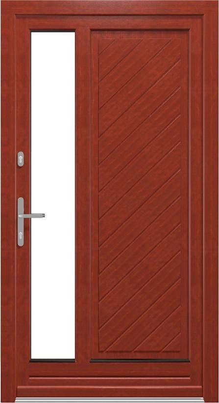 Haustüren Holz - Holzhaustüren aus Kiefer- oder Merantiholz