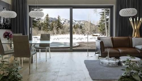 Hebe-Schiebe Türen aus Aluminium -