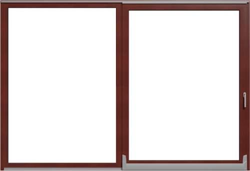 Parallel-Schiebe-Kipp Türen Holz-Aluminium -
