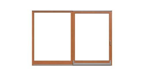 Parallel-Schiebe-Kipp Türen Holz -
