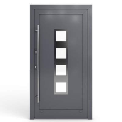 Haustüren Modelle aus Alu -