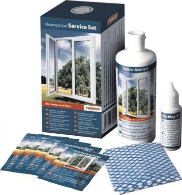 Weiss Chemie - Reinigungs & Pflegeset Premium für Kunststofffenster