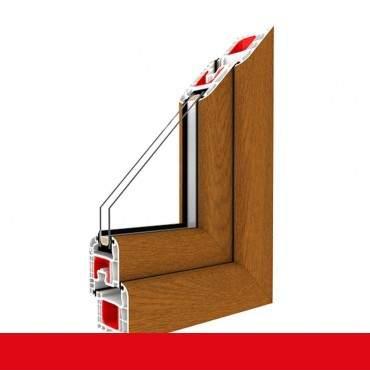 Kunststofffenster golden oak 2178001 Dreh Kipp 2-fach 3-fach Verglasung alle Größen