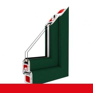 Kunststofffenster moosgrün Dreh Kipp 2-fach 3-fach Verglasung alle Größen