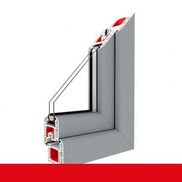 Kunststofffenster grau Dreh Kipp 2-fach 3-fach Verglasung alle Größen