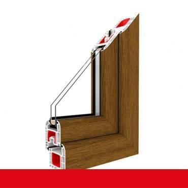 Kunststofffenster eiche hell Dreh Kipp 2-fach 3-fach Verglasung alle Größen