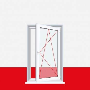 Kunststofffenster Bergkiefer Dreh Kipp 2-fach 3-fach Verglasung alle Größen ? Bild 4