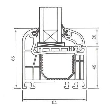 Festverglasung Rahmen Weiß ? Bild 4