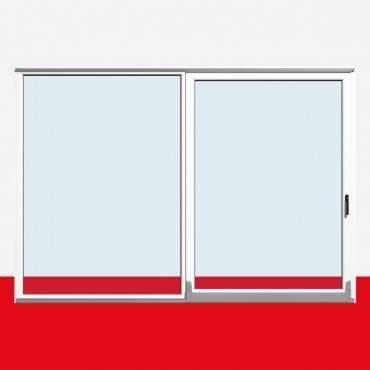 Parallel Schiebe Kipp Tür Schiebetür PSK Kunststoff Weiß ? Bild 2