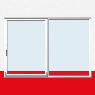 Parallel Schiebe Kipp Tür Schiebetür PSK Kunststoff Weiß ? Bild 3