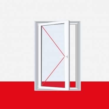 Kunststofffenster Dreh (ohne Kipp) Fenster Weiß ? Bild 1