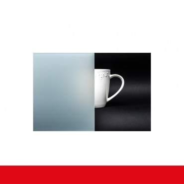 Kunststofffenster Badfenster Ornament Milchglas Weiss ? Bild 3