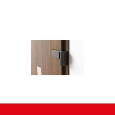 Kunststoff Haustür IGLO 5 Modell 1 aluminium gebürstet ? Bild 8