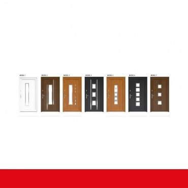 Kunststoff Haustür IGLO 5 Modell 10 braun maron ? Bild 2