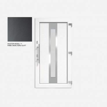 Kunststoff Haustür IGLO 5 Modell 11 Basaltgrau Glatt ? Bild 1