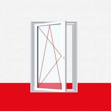 Kunststofffenster Badfenster Ornament Cathedral Aluminium Gebürstet ? Bild 2