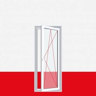 1-flügelige Balkontür Kunststoff Dreh-Kipp Aluminium Gebürstet ? Bild 3