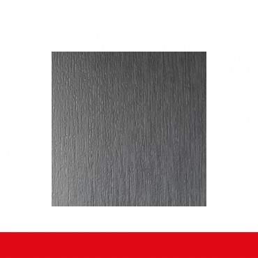 2-flüglige Balkontür Kunststoff Stulp Aluminium Gebürstet  ? Bild 5