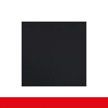 2-flüglige Balkontür Kunststoff Stulp Anthrazit Glatt ? Bild 5