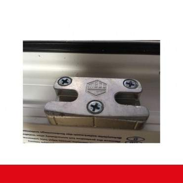 2-flüglige Balkontür Kunststoff Stulp Crown Platin ? Bild 9