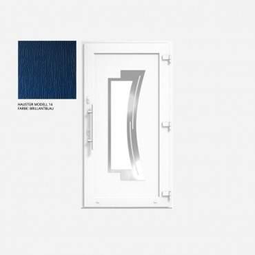 Kunststoff Haustür IGLO 5 Modell 14 Brillantblau ? Bild 1