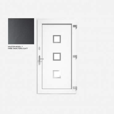 Kunststoff Haustür IGLO 5 Modell 7 Basaltgrau Glatt  ? Bild 1