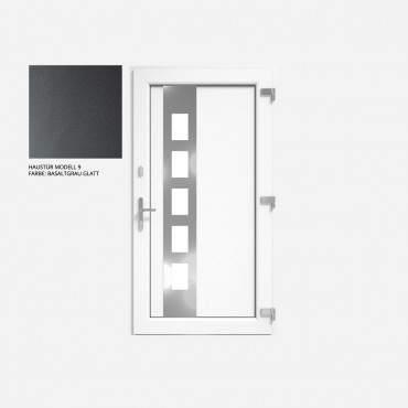 Kunststoff Haustür IGLO 5 Modell 9 Basaltgrau Glatt ? Bild 1