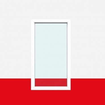 Festverglasung Fenster Milchglas (matte Folie) 1 flg. Fest Kunststofffenster ? Bild 1