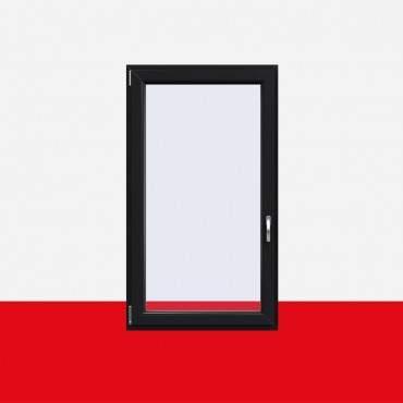 Kunststofffenster Anthrazitgrau (Innen und Außen) Dreh Kipp Fenster 1 flg. ? Bild 1