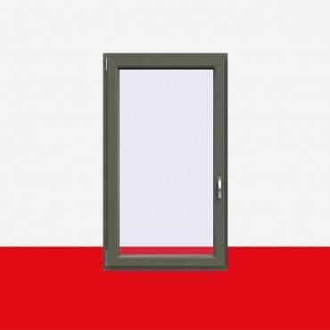 Kunststofffenster Basaltgrau (Innen und Außen) Dreh Kipp Fenster 1 flg. ? Bild 1
