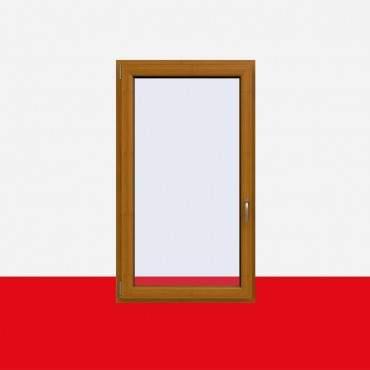 Kunststofffenster Bergkiefer (Innen und Außen) Dreh Kipp Fenster 1 flg. ? Bild 1
