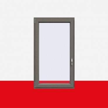 Kunststofffenster Betongrau (Innen und Außen) Dreh Kipp Fenster 1 flg. ? Bild 1