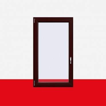 Kunststofffenster Braun Maron (Innen und Außen) Dreh Kipp Fenster 1 flg. ? Bild 1