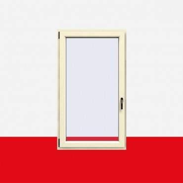 Kunststofffenster Cremeweiß (Innen und Außen) Dreh Kipp Fenster 1 flg. ? Bild 1