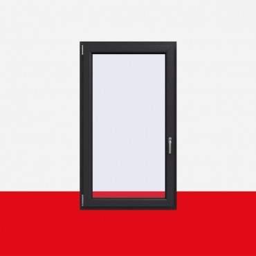 Kunststofffenster Crown Platin (Innen und Außen) Dreh Kipp Fenster 1 flg. ? Bild 1