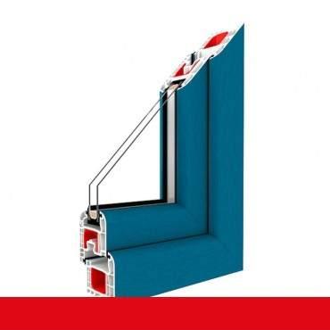 2-flügliges Kunststofffenster Brillantblau (Innen und Außen) Dreh-Kipp / Dreh-Kipp mit Pfosten ? Bild 2