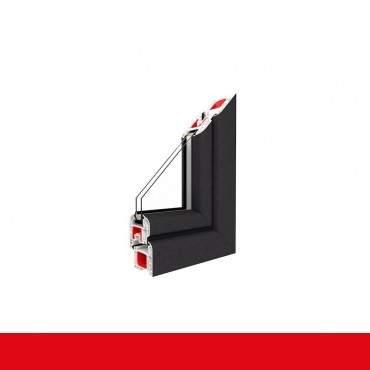 2-flügliges Kunststofffenster Crown Platin (Innen und Außen) Dreh-Kipp / Dreh-Kipp mit Pfosten ? Bild 2