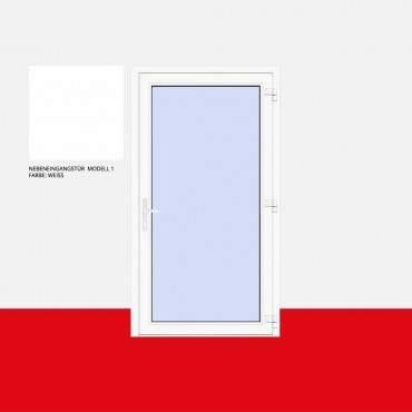 Nebeneingangstür Modell 1 Weiß ? Bild 1