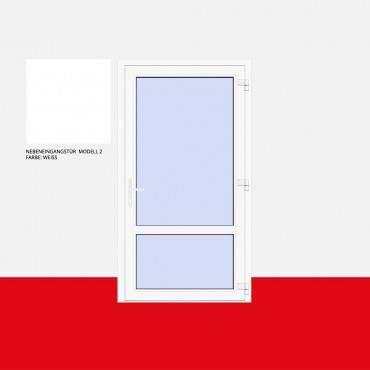 Nebeneingangstür Modell 2 Weiß ? Bild 1