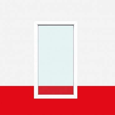 Restposten Festverglasung Fenster Milchglas (matte Folie) 1 flg. Fest Kunststofffenster 1000x1400 (BxH) 2-fach Verglasung ? Bild 1