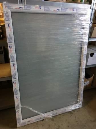 Restposten Festverglasung Fenster Milchglas (matte Folie) 1 flg. Fest Kunststofffenster 1000x1400 (BxH) 2-fach Verglasung ? Bild 2