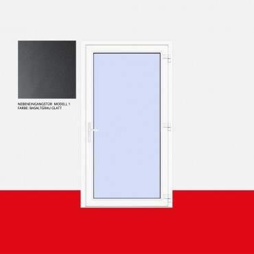 Nebeneingangstür Modell 1 Basaltgrau Glatt ? Bild 1