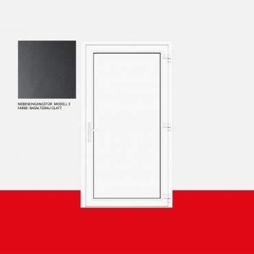 Nebeneingangstür Modell 3 Basaltgrau Glatt ? Bild 1