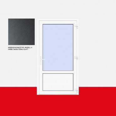 Nebeneingangstür Modell 4 Basaltgrau Glatt ? Bild 1