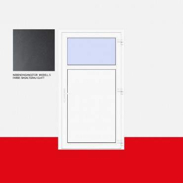 Nebeneingangstür Modell 5 Basaltgrau Glatt ? Bild 1