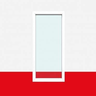 Balkonfenster Weiß - 2-fach / 3-fach Festverglasung Balkon Fenster Fest ? Bild 1